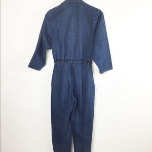 Vintage Pants - Vintage Denim Jumpsuit